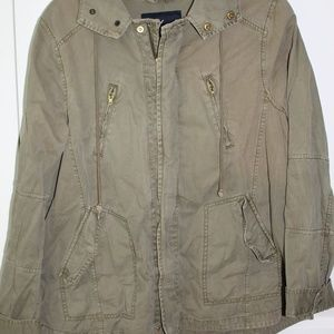 AE army green jacket